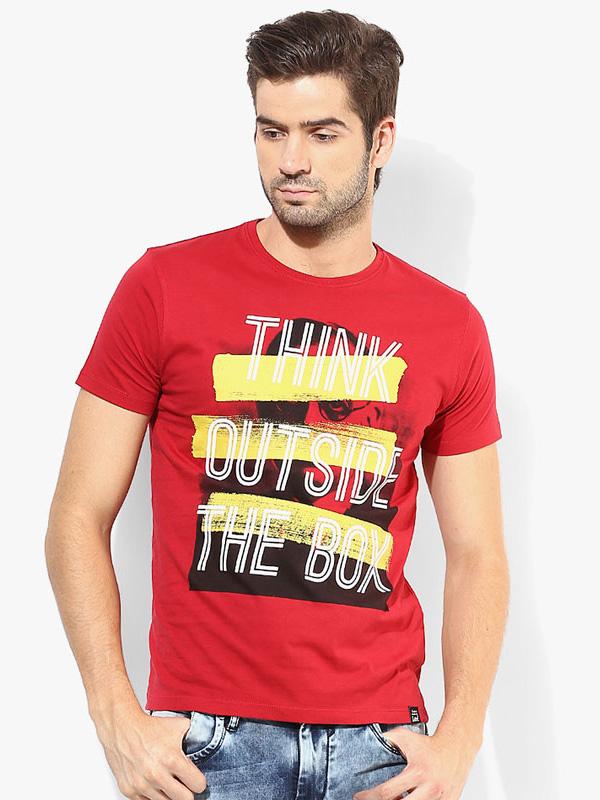 Relaxed Velvet T-shirt